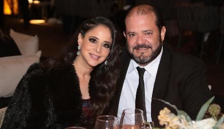 Adriana Ramón y Armando Villaseñor.