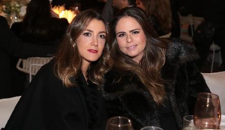 Marcela Rivero y Marianne Velasco.