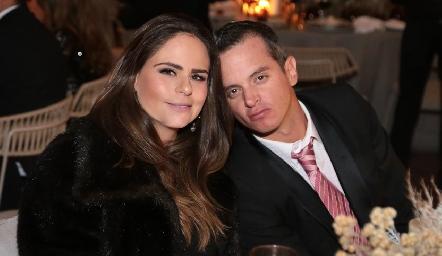 Marianne Velasco y Eduardo Zermeño.