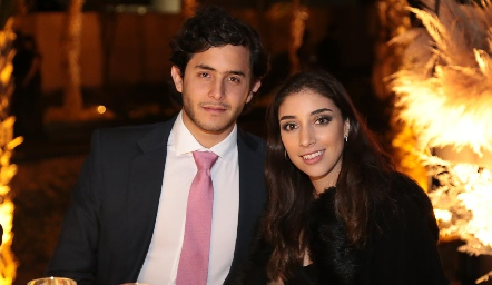 Julián Abud y Paula Pérez.