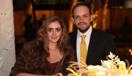 Diana Favela y Juan Sarquis.