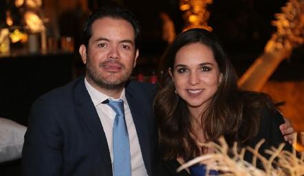 Diego Hernández y María Leal.