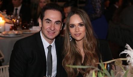 Güero Padilla e Iliana Rodríguez.