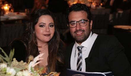Susana Lozano y Mauricio Romo.