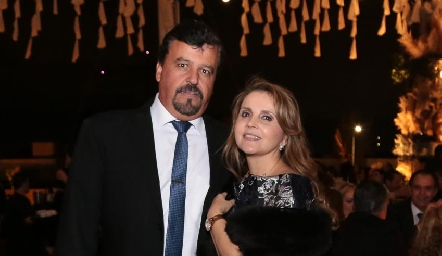 Héctor Gómez y Ana Isabel Gaviño.