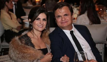 Lucía Escobedo y Óscar Cabrera.