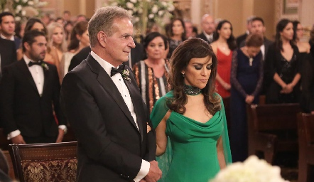 Daniel Dauajare y Mónica Gutiérrez.