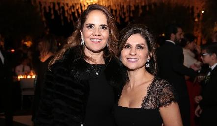 Gabriela Payán y Lucía Escobedo.