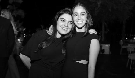 Catalina Esper y Natalia Navarro.