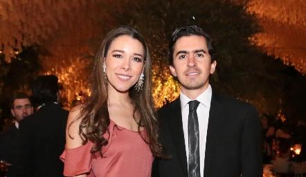 Michelle Cano y Memo Gómez .