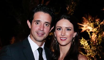 Roberto Mejía y Cata Abud.