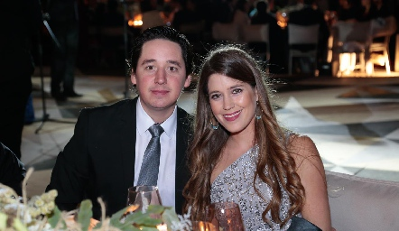 Adrián Muñiz y Araceli Palau.