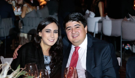 María Berrueta y Rolando Domínguez.