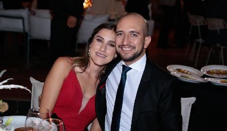 Sofía Villaseñor y Diego Bocard.