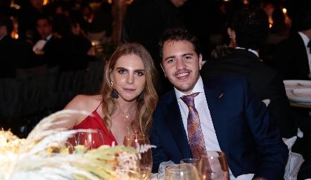 Mariana Pizzuto y Andrés de los Santos.