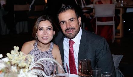 Ximena Treviño y Roberto González.