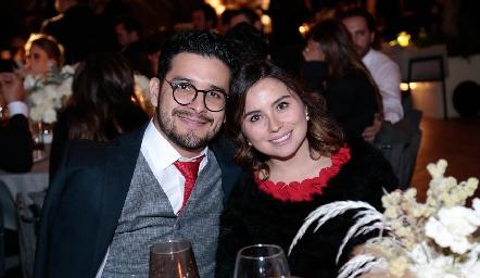 Héctor Álvarez y Margot Uría.