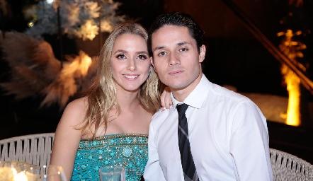 Faustina Villarreal y Agustín Castillo.