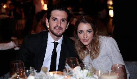 Eduardo Torre y Ana Pau de los Santos.