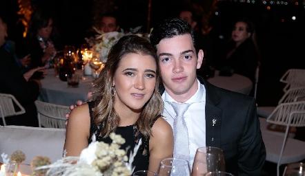 Laura Pelayo y Pablo Valladares.