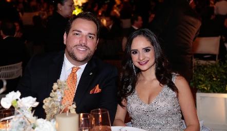 Bernardo González y Claudette Villasana.