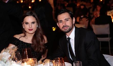 Maite Soberón y Andrés Allende.