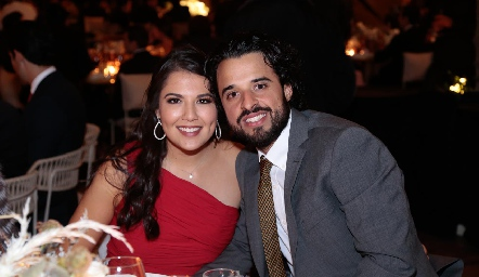 Diana Villanueva y Samuel Romo.