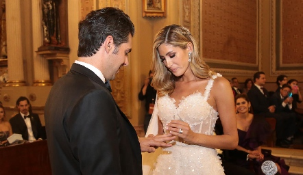 Daniel Dauajare y Martha de la Rosa.