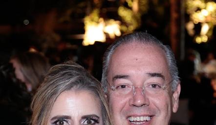 Paty García Siller y Nacho Ramírez.
