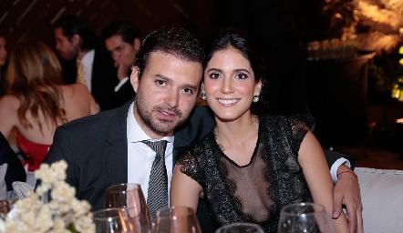 Diego De Luna y Maribel Rodríguez.