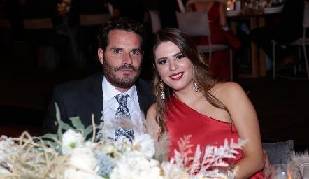 Manuel De Antuñano y Luli Robles.