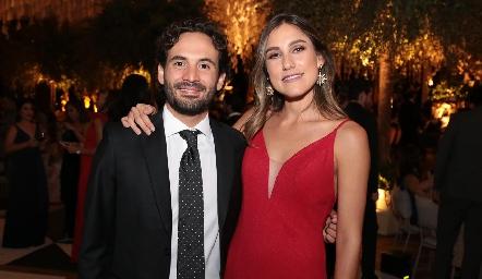 Efraín Barrera y Sofía Villaseñor .