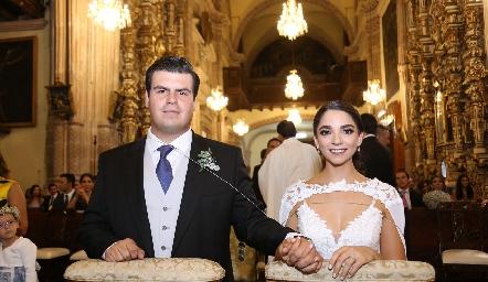 Mauricio Labastida y Sofía Álvarez ya son esposos.