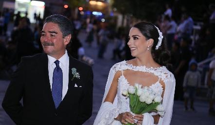 Manuel y Sofía Álvarez.