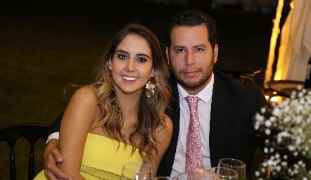 Lu Borbolla y Juan Pablo Castillo.