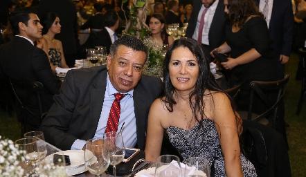Antonio Cisneros y Lolis Delgado.