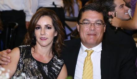 Alejandra Ávila y Toño Gutiérrez.
