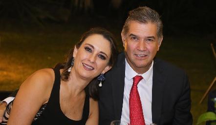 Gloria Martínez y José Luis Leiva.