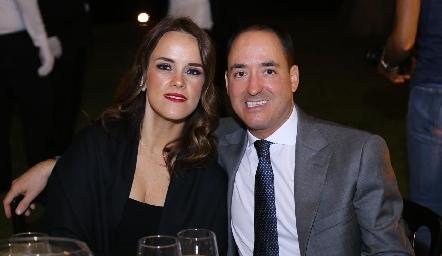 María Sotomayor y Carlos Valdés.