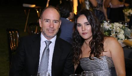 Pablo Díaz del Castillo y Ana Paula Valdés.