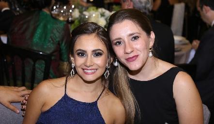Lucía Díaz y Sofía Loperena.