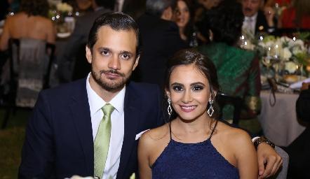 Fernando Díaz de León y Lucía Díaz.