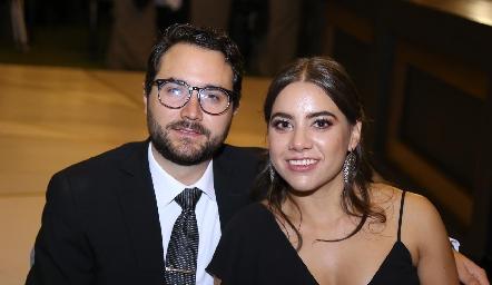 Salvador Foyo y Ximena Gómez.