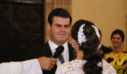 Mauricio Labastida y Sofía Álvarez.