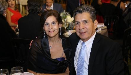 Luchi y Julio Castelo.