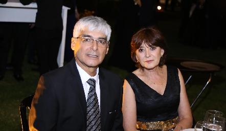 Carlos Martens y Juana Perogordo.