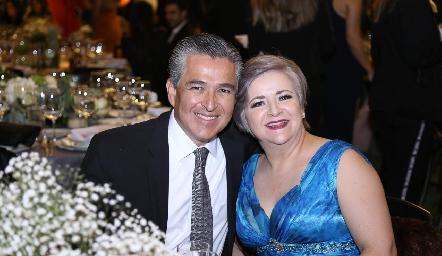 Luis González y Vero Ramírez.