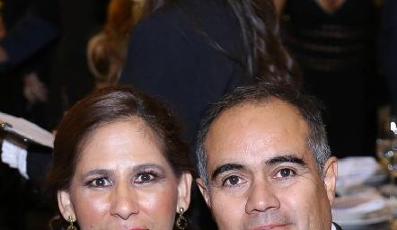 Adriana Rodríguez y Joel Álvarez.