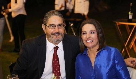 Humberto Rodríguez y Claudia Quintero.