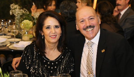 Carolina César y José Iga.